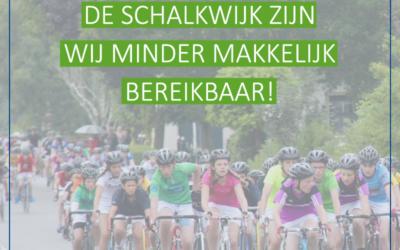 Tour de Schalkwijk – bereikbaarheid DAP Krommerijnstreek